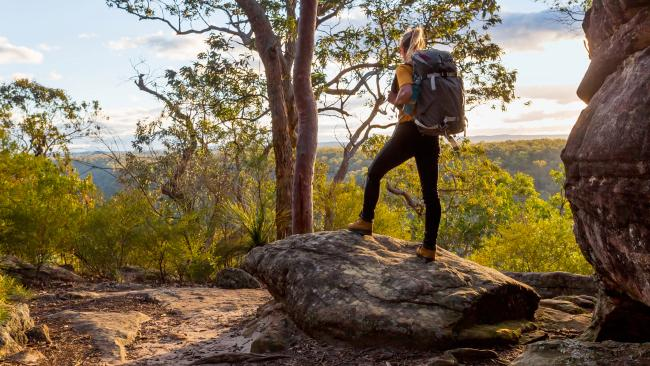 """The bushThe Australian outback and the bush got enthusiastic thumbs up from many commenters. """"There's so much country to explore, and so much of it is completely untouched."""""""