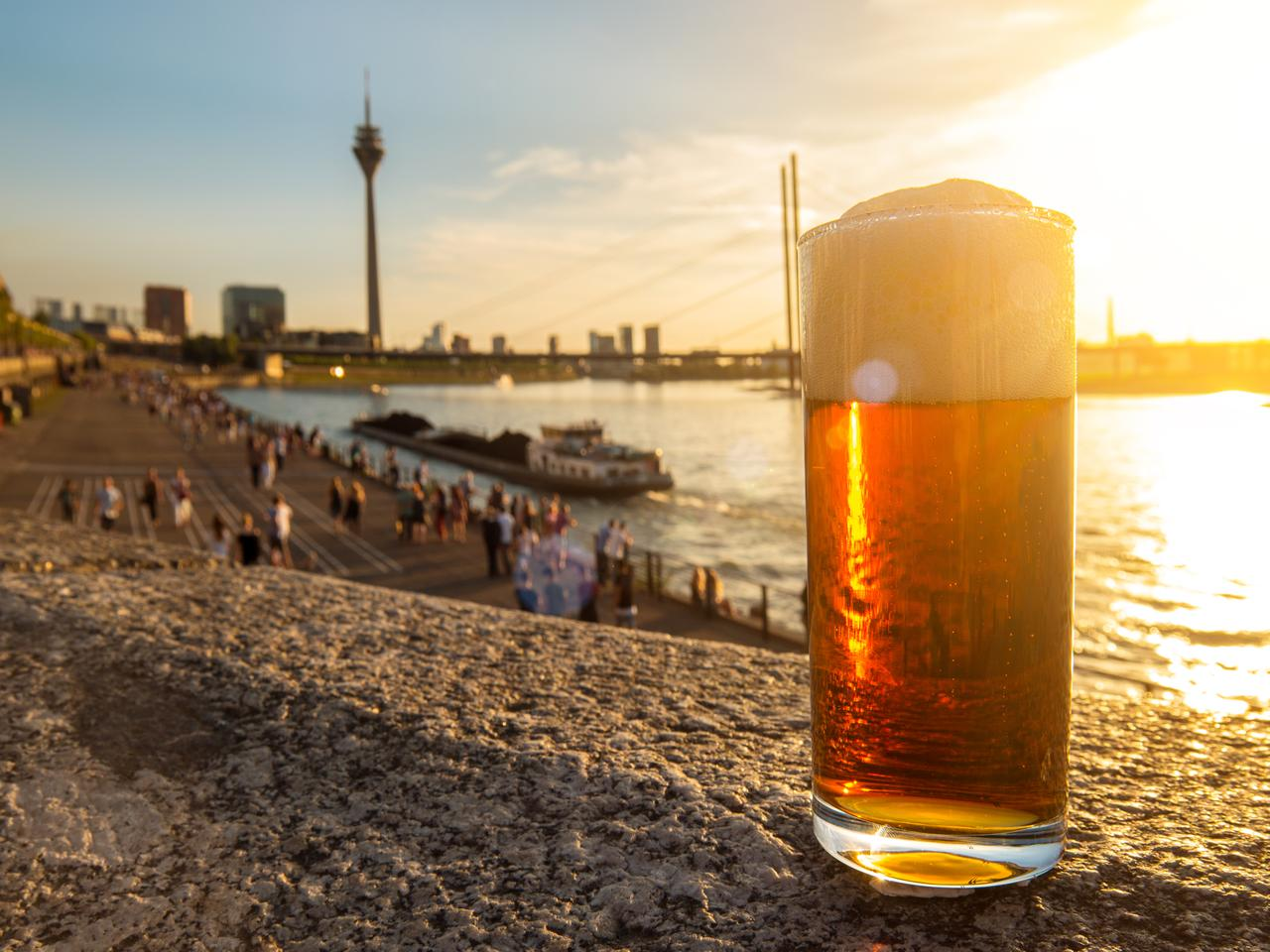 If there's a place you need to try beer, Dusseldorf is one of those places.