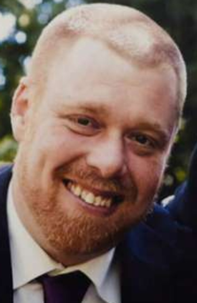Jeffrey Lindsell, 39, died from terrible burns in the fire police allege his girlfriend deliberately lit. Picture: Nine News.