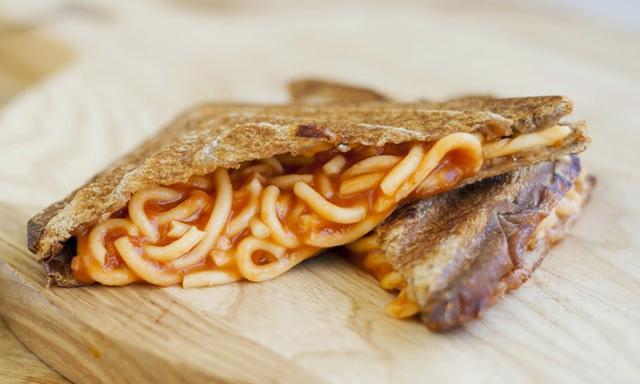 Spaghetti toastie