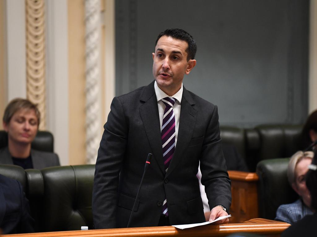 Queensland Leader of the Opposition David Crisafulli will also enjoy a pay rise. Picture: NCA NewsWire / Dan Peled