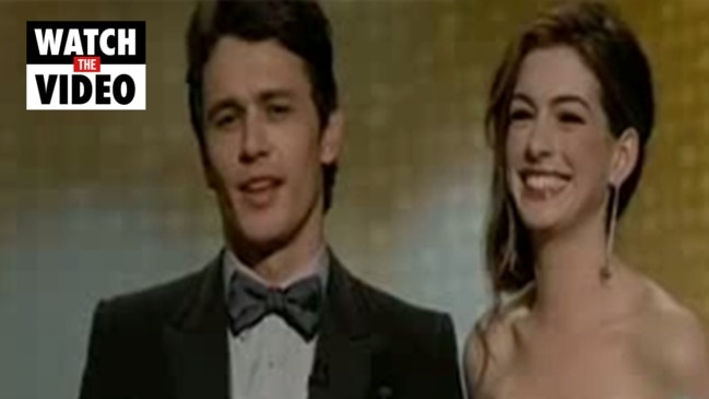 James Franco and Anne Hathaway's disastrous Oscars hosting effort