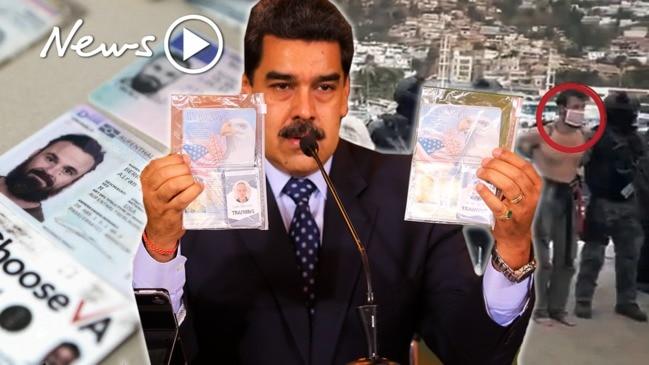 American soldiers captured trying to seize Venezuelan President, Nicolás Maduro
