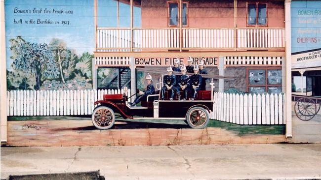 Explore the town's history on the mural trail. Picture: Tourism Bowen