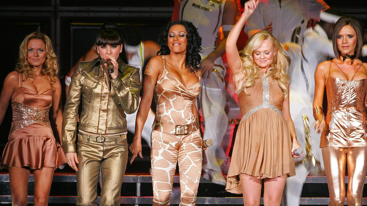 The Spice Girls during their 2007 tour. Picture: Carl De Souza/AFP