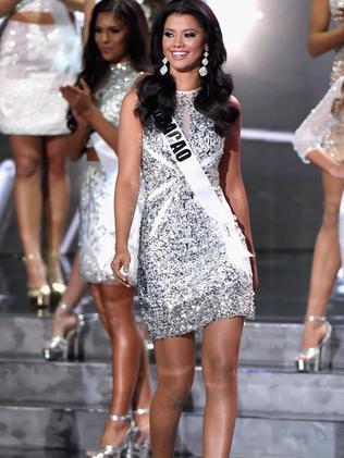 Miss Curacao 2015, Kanisha Sluis. Picture: Getty