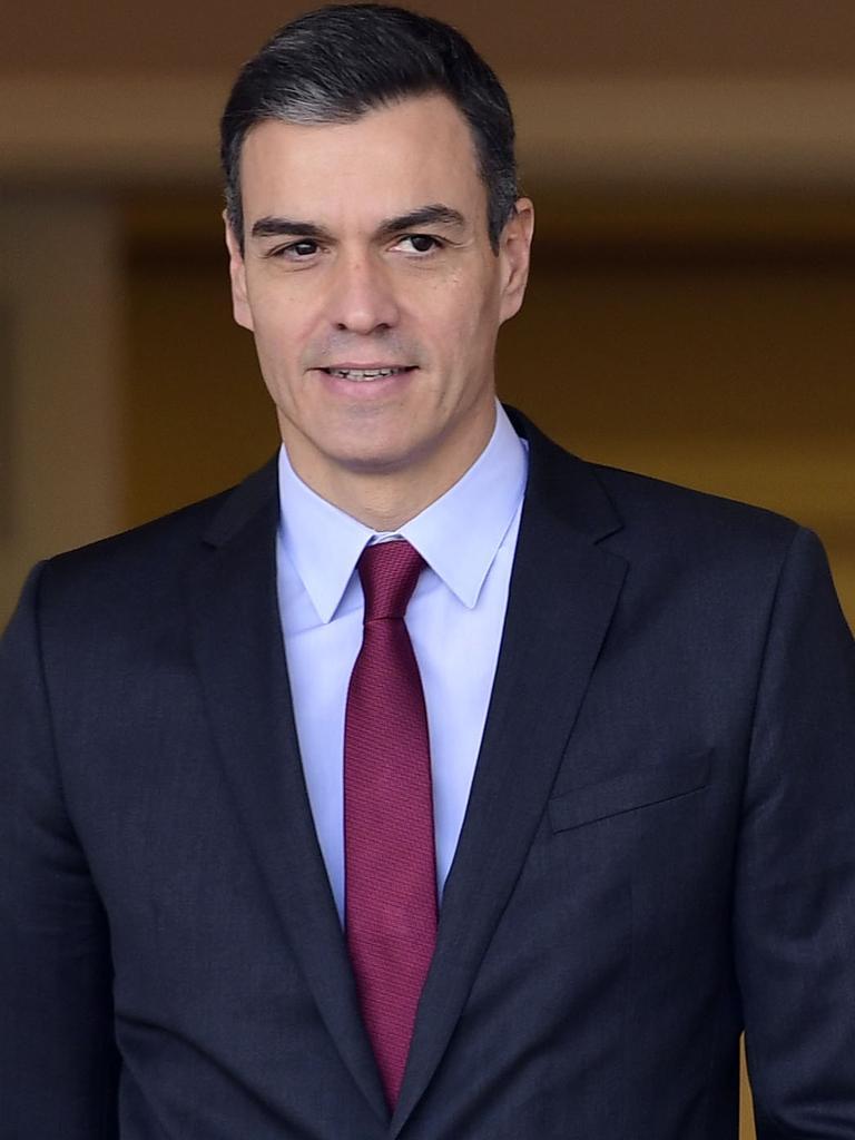 Spanish prime minister Pedro Sanchez. Picture: AFP