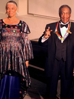 Bill Cosby with his wife Camille in 1998. Picture: AP