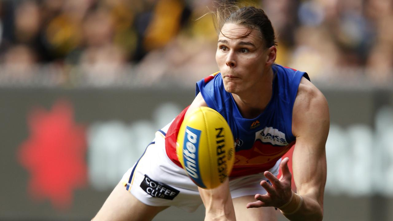 Re-signed Lions forward Eric Hipwood has kicked 32 goals this season. Picture: Getty Images