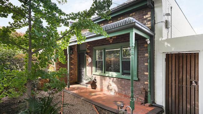 The property retains in heritage charm from outside.