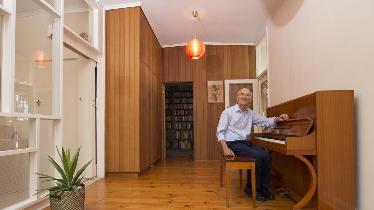 Don Loffler is selling his treasured family home in Klemzig. Photo - Naomi Jellicoe