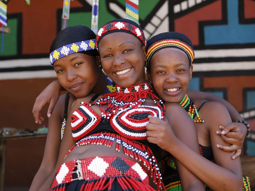 Zulu culture is an important part of life in Durban, South Africa's third-biggest city.