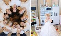 'I homeschool 10 kids - and spends $5K on birthdays'