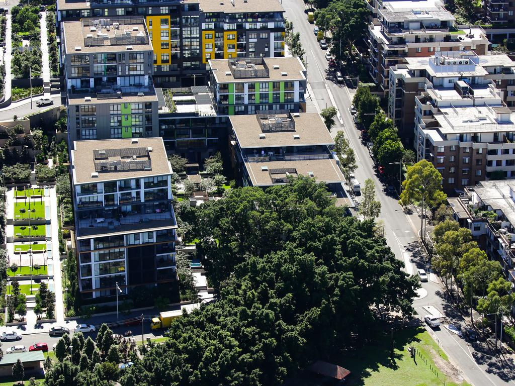Houses in Sydney and Melbourne could be more impacted than units. Picture: NCA NewsWire