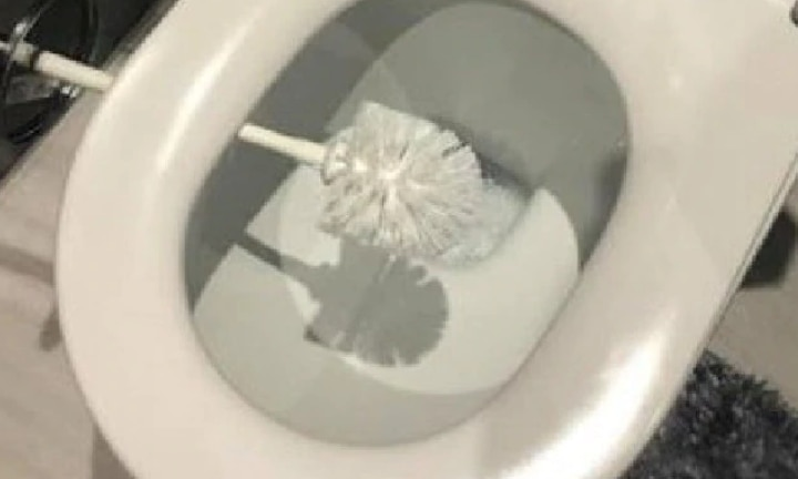 Mum's toilet brush hack sparks debate
