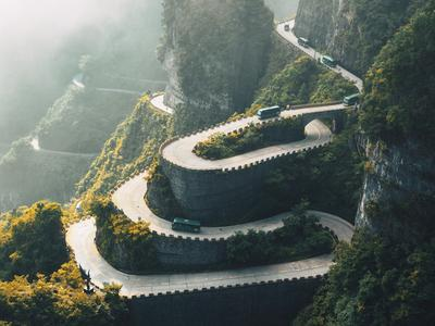 Aerial photos from above China