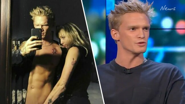 Cody Simpson opens up about relationship with Miley Cyrus (The Project)