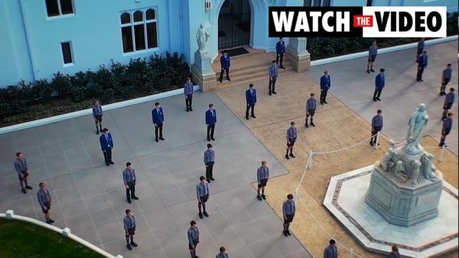 Brisbane boys school overcomes COVID with choir performance