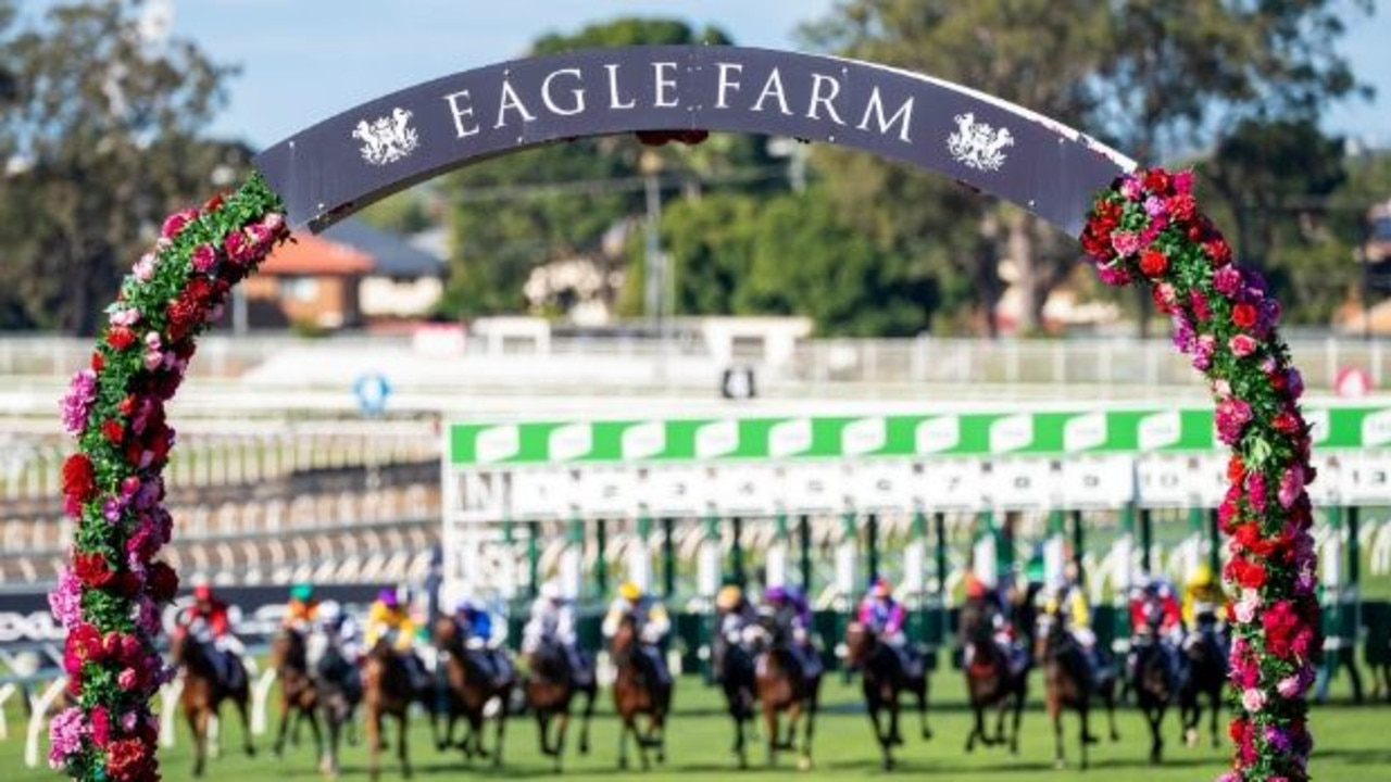 The barriers at Eagle Farm. Photo: Racing Queensland.