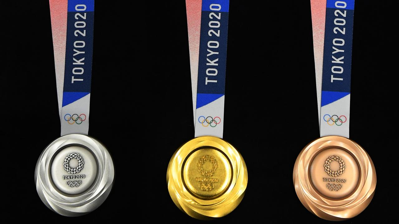 Australia is tipped to win 16 gold medals and 40 medals overall at the Tokyo Olympics. Picture: Getty Images