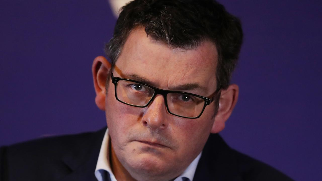Victorian Premier Daniel Andrews was angry on Monday. Picture: NCA NewsWire / David Crosling