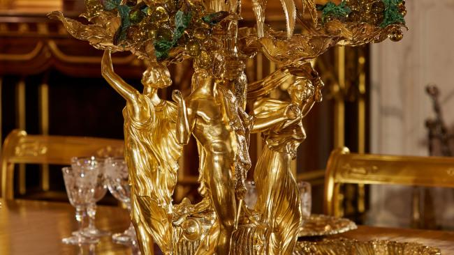 Many of the pieces are still used today for State Banquets.Picture: Royal Collection Trust / © Her Majesty Queen Elizabeth II 2020