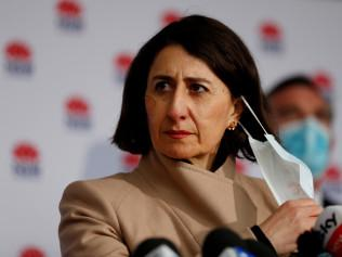 SYDNEY, AUSTRALIA - NewsWire Photos JULY 14, 2021: NSW Premier Gladys Berejiklian provides a COVID-19 update at a press conference in St Leonards. Picture: NCA NewsWire / Nikki Short