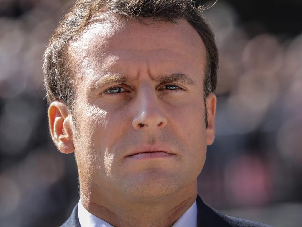 With his pro-ecology stance, French President Emmanuel Macron is under pressure to act. Picture: AFP
