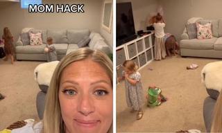 Mum's genius hack to get kids to tidy up