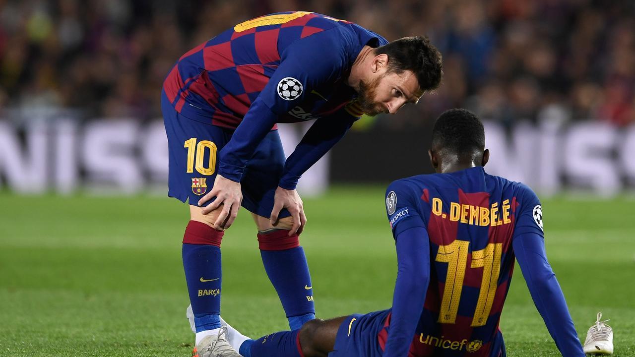 Barcelona's stars are taking a major wage cut.
