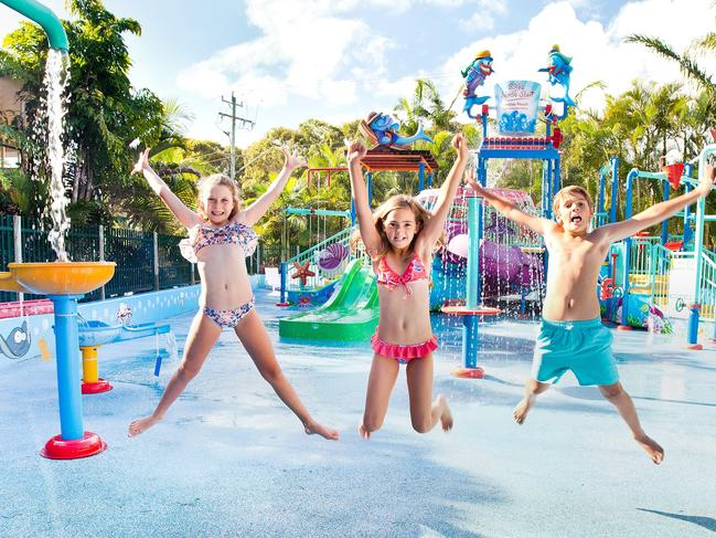 "NORTH STAR HOLIDAY RESORT This holiday park is home to ""Sammy's Adventure Lagoon"" and has slides, water play areas, a splash park, canons and pools for kids of all ages. Website  ADDRESS: 1 Tweed Coast Rd, Hastings Point NSW 2489"