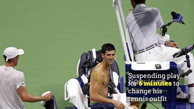 EXPLAINER: Millman loses to Djokovic