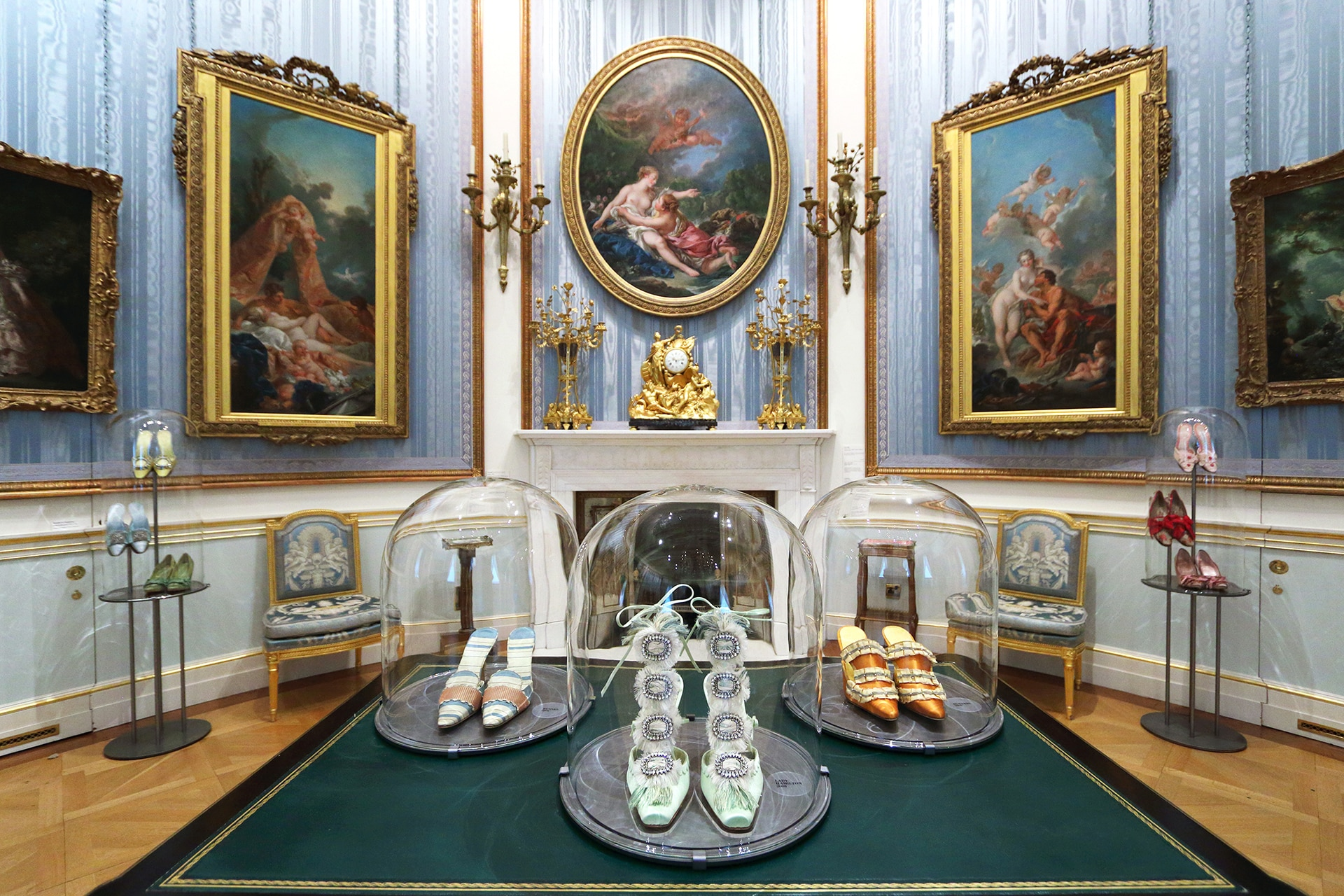 Inside Manolo Blahnik's new exhibition at the Wallace Collection