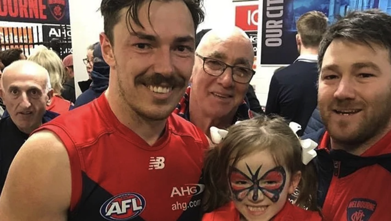 The Melbourne Football Club has released a statement regarding Geoff Hibberd and his brother, Demons defender Michael.