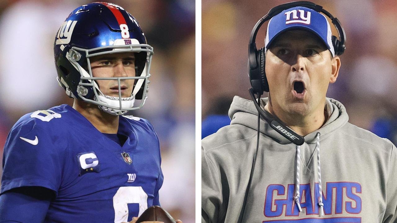 The NY Giants threw away a win – and things got heated.