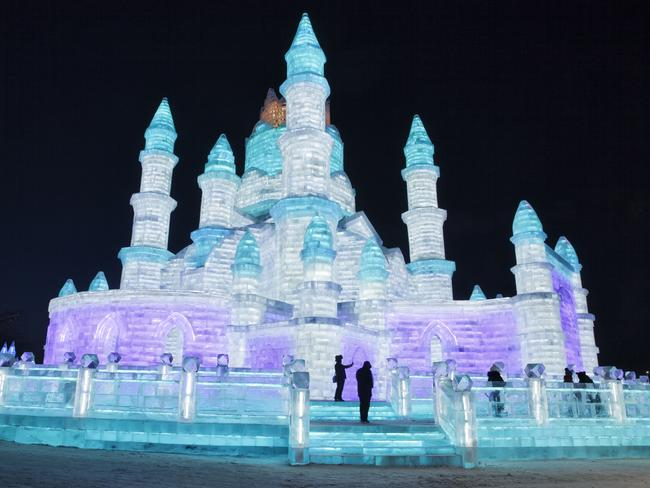 HARBIN The icy capital of the northernmost Heilongjiang province, which borders Russia, Harbin reports temperatures of -36 C in winter. No surprise that it's one of the country's most fascinating winter destinations, with it's annual Harbin International Ice and Snow Sculpture Festival the largest in the world. Harbin's Russian legacy lives on in its pelmeni dumplings and domed cathedral.