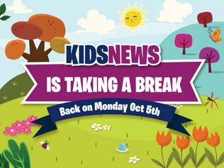 Kids News spring artwork thumbnail. Picture: Andrew Belousoff