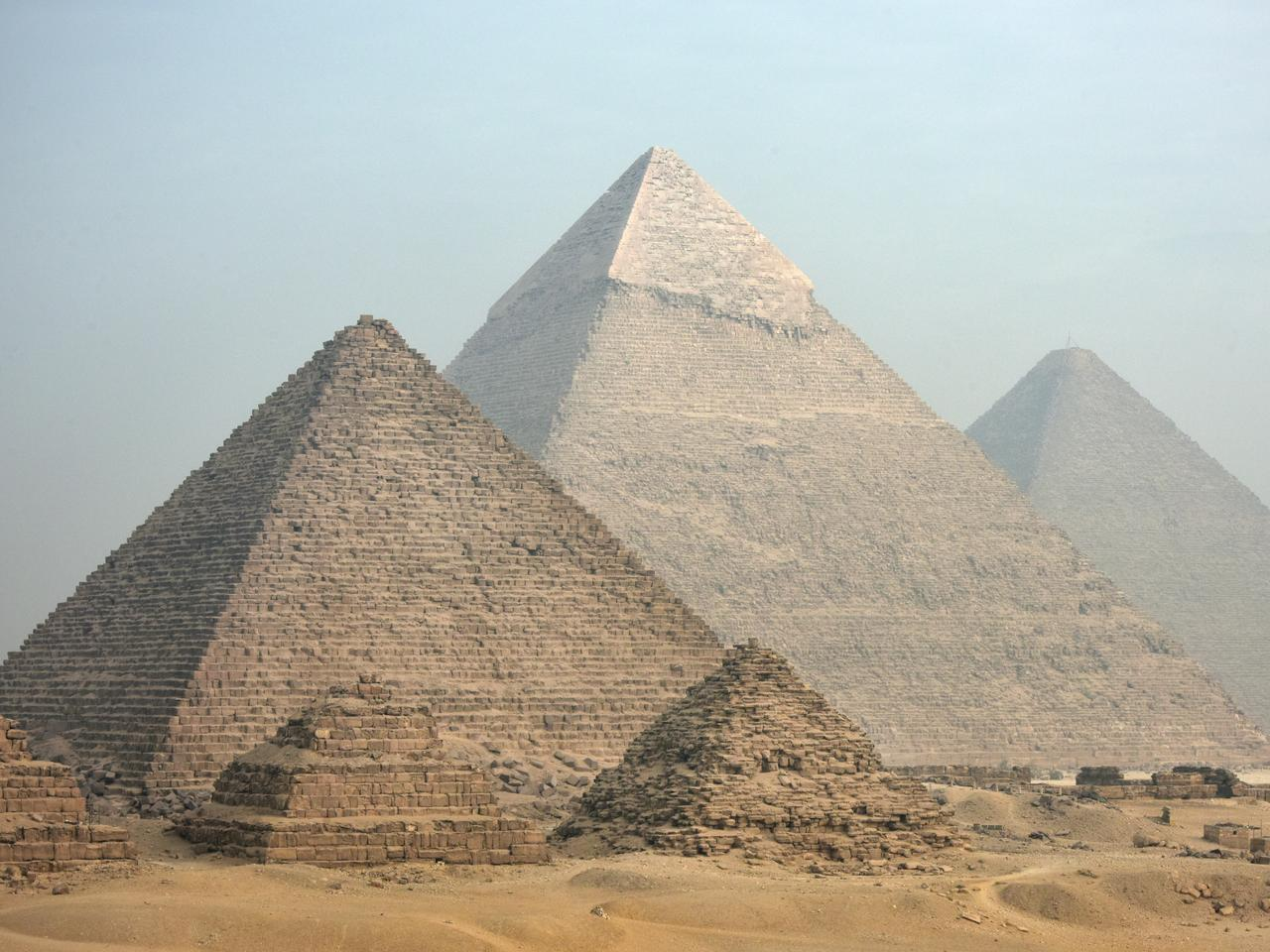 The scale of the pyramids was a bit underwhelming.