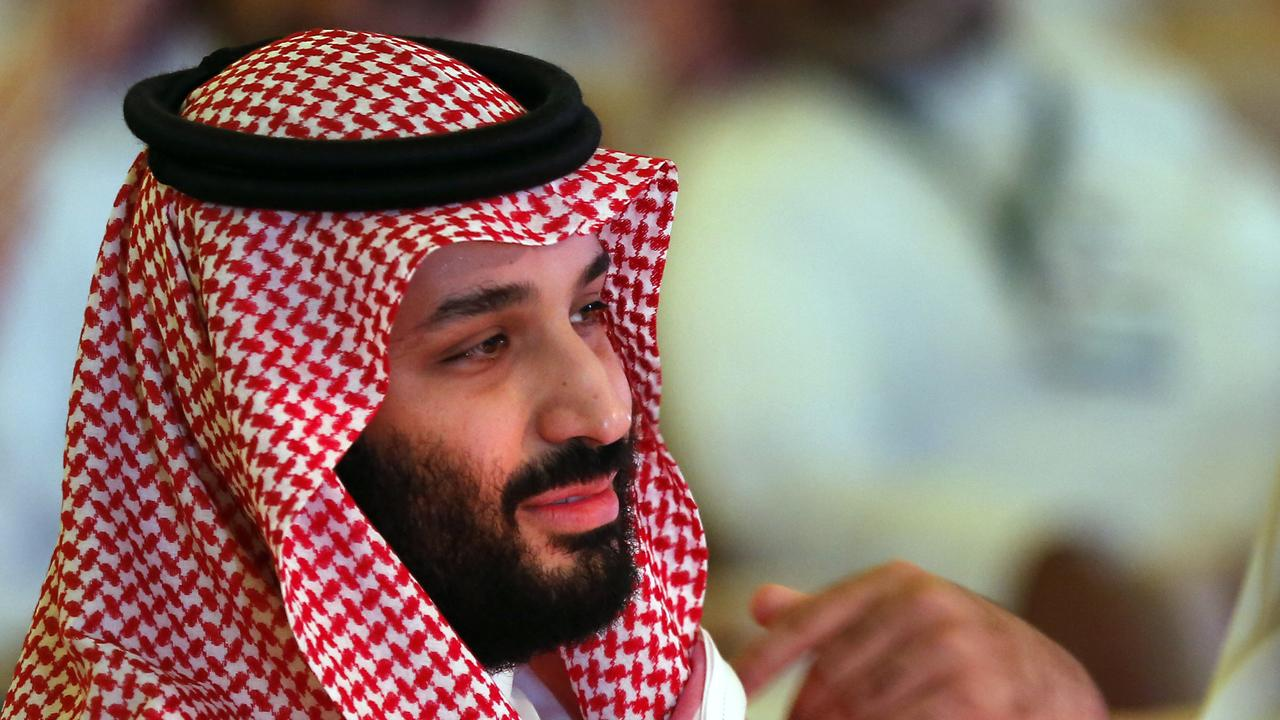 The CIA says Saudi Crown Prince Mohammed bin Salman is probably linked to the killing, but Donald Trump has distanced himself from those accusing the crown prince of involvement. Picture: AP