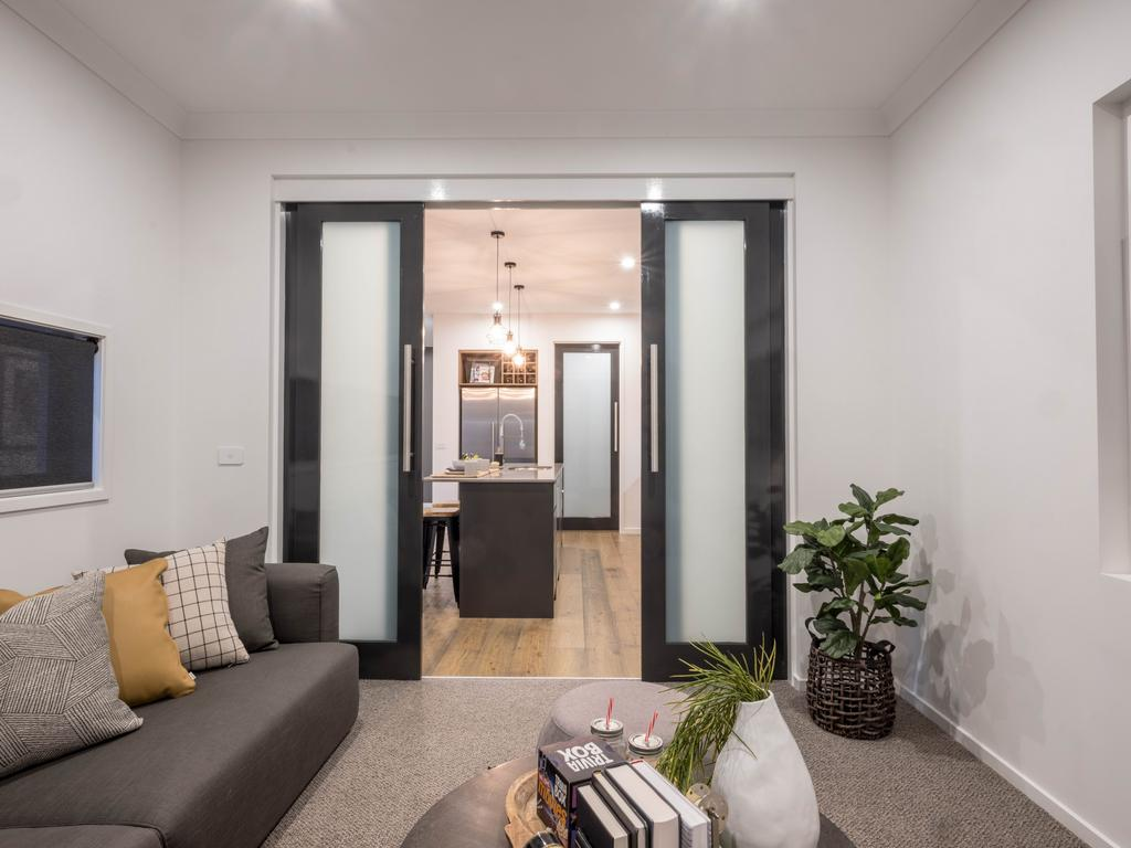 Extended living space in the Albany.