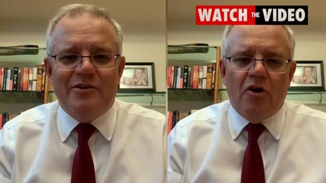 Scott Morrison thanks Victorians for lockdown effort
