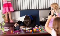 'School holidays are hell for working parents'