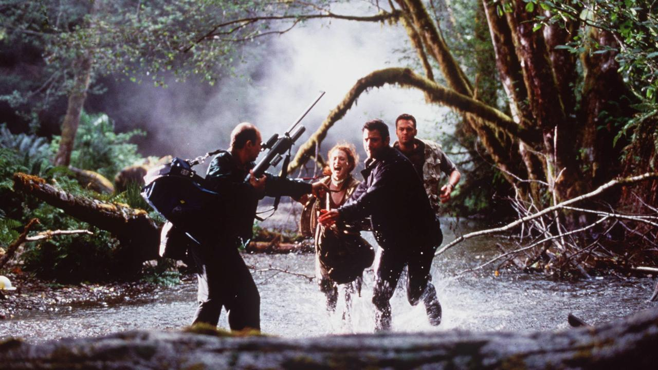 19Jun97 Scenes from the movie, Jurassic Park: The Lost World.  f/l /Films