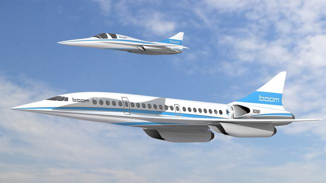 The passenger jet Boom Technology hopes to put in the sky.