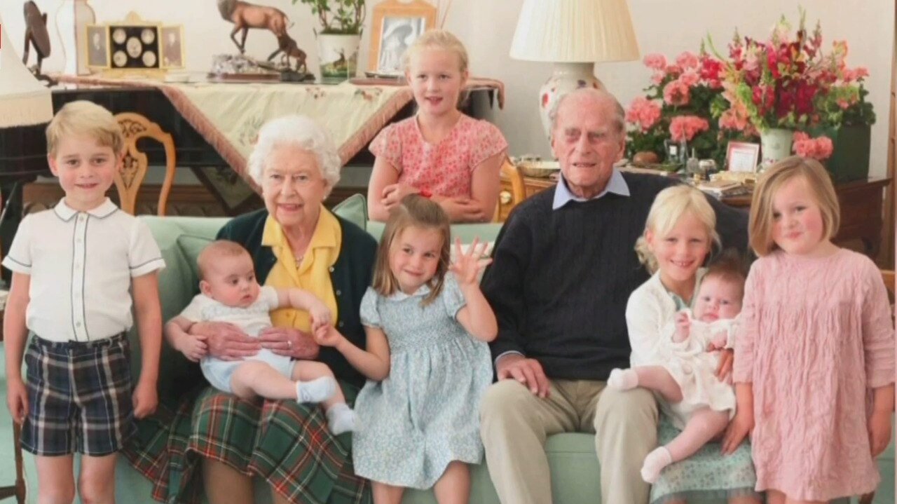 Royals release unseen images of Prince Philip