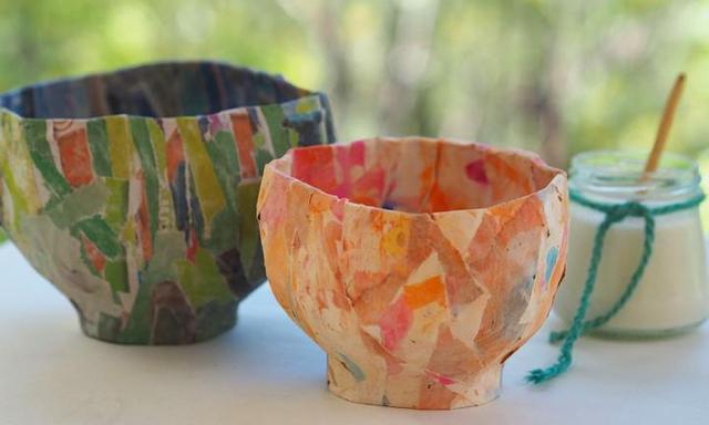 Diy Craft Paper Mache Bowl Kidspot