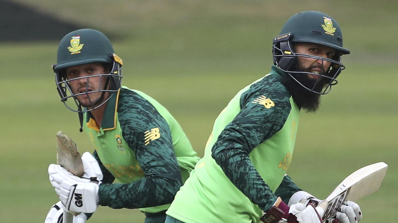 Hashim Amla is looking in good touch ahead of the World Cup.