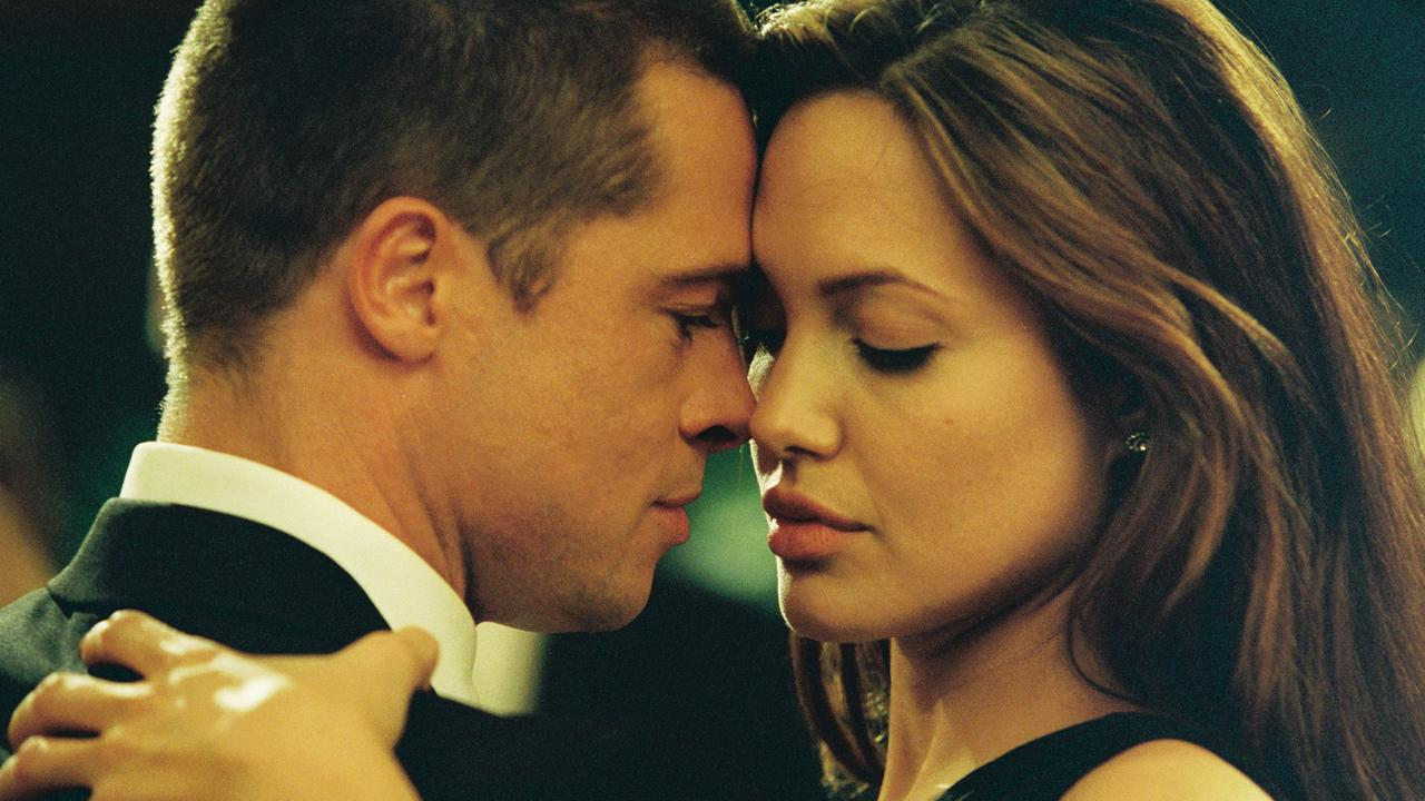 The pair fell for each other while filming the action hit Mr and Mrs Smith.