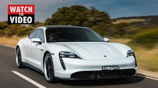 Porsche takes on Tesla with Taycan