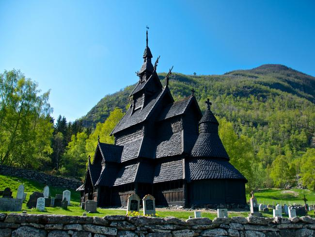 SEE THE STAVE CHURCHES, NORWAY Norwegian architecture has a major role in Frozen, with characteristically Norwegian 'stave churches' appearing to be the inspiration for Arendelle Castle. Created from upright wooden planks, with a mix of Norse and Christian architecture design, there are only a few left – and most are in Norway. Picture: Øyvind Heen – Visitnorway.com
